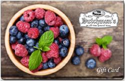 Berries Gift Card